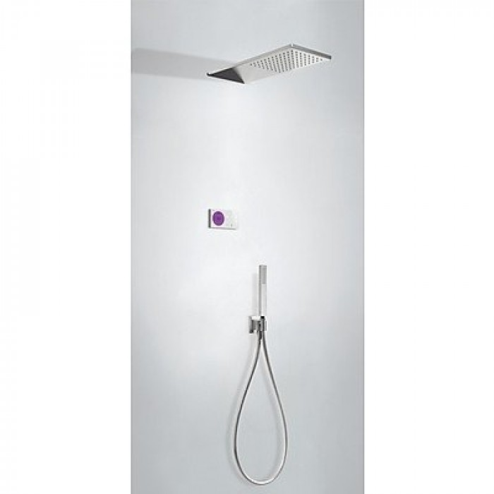 Kit de douche thermostatique électronique et encastré SHOWER TECHNOLOGY Tres - 09286551