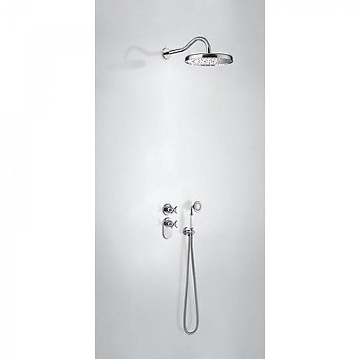 Kit thermostatique de douche encastré Tres - 24235202