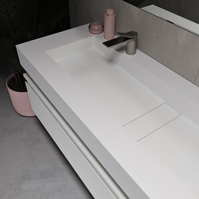 Vasque en Corian® Area