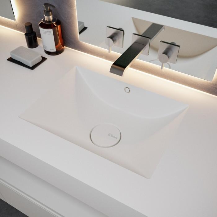 Double vasque en Corian® Refresh 7410