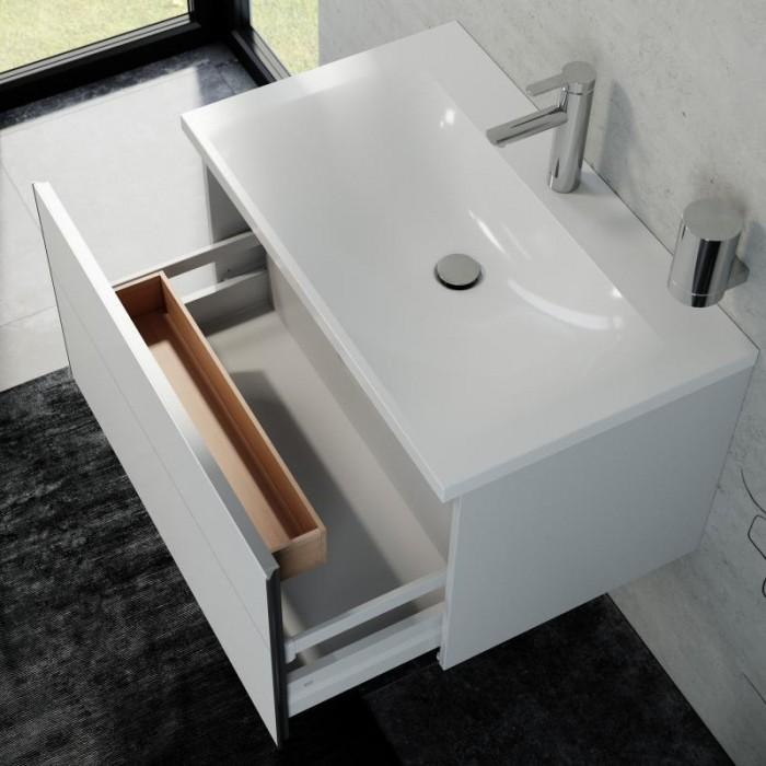Ensemble Meuble + Vasque avec 1 tiroir Keuco Royal Reflex - 39603