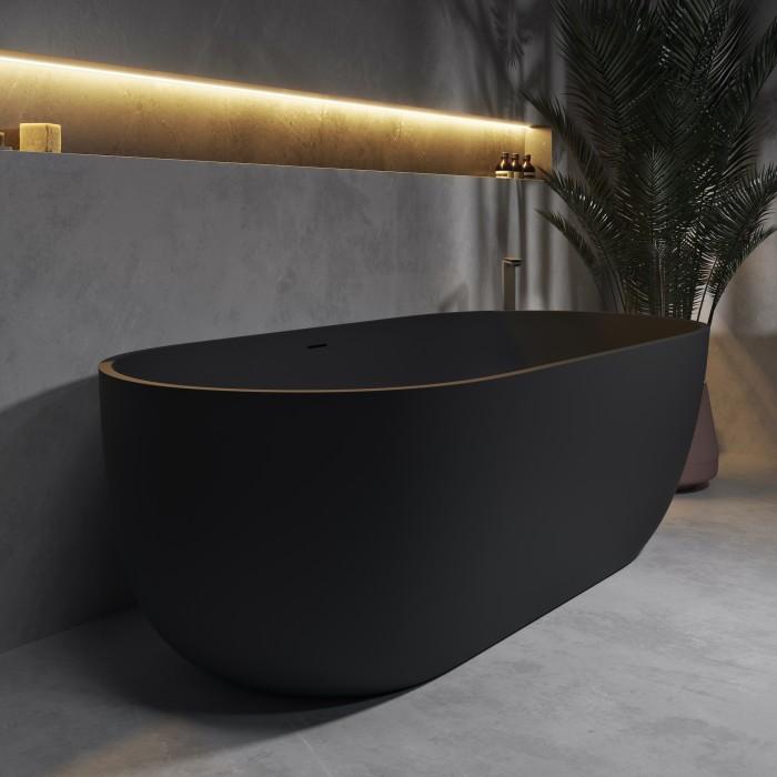 Baignoire Ilot Zurich en Solid Surface