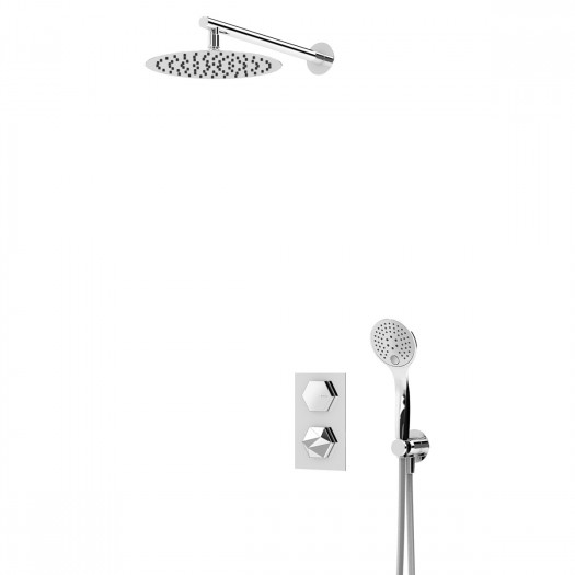 Kit de douche thermostatique BRUMA - 1837401CR