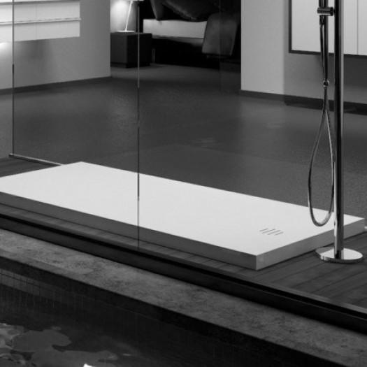 Receveur de douche Munich en Corian® 100x80cm