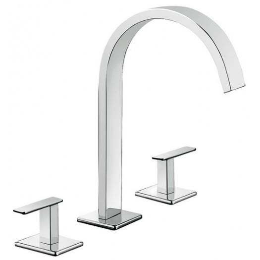 Mélangeur de lavabo à trois trous Fir - 38.1251.5