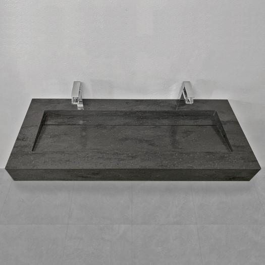 Vasque Corian® Carbon Aggregate Alabama Plus - 120x50x12cm