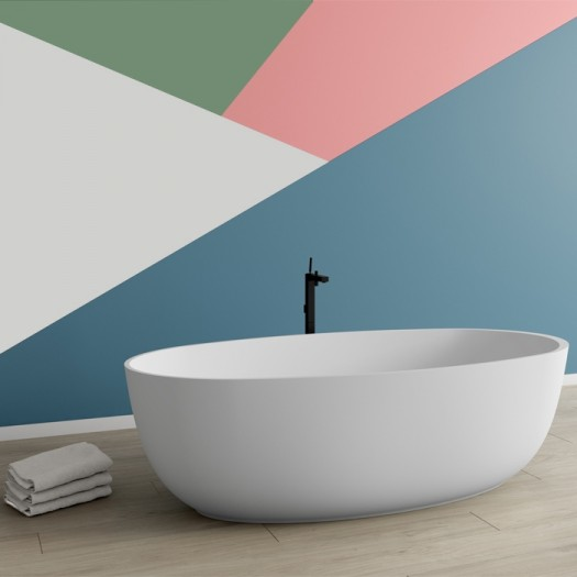 Baignoire Blanca Yessenia en Solid Surface
