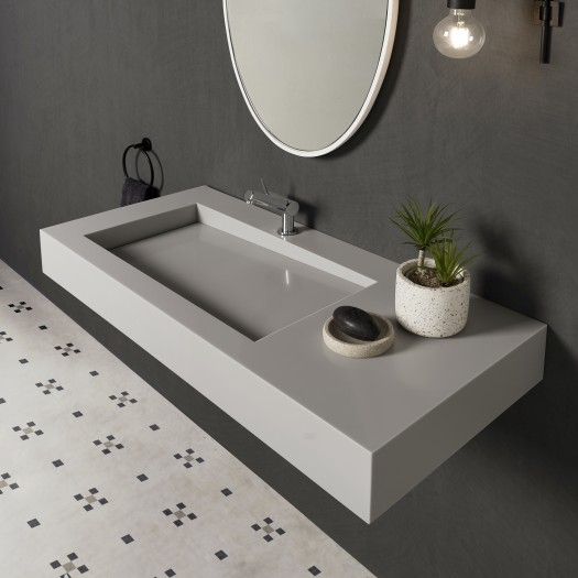 Vasque en Corian® Silver Gray Canada