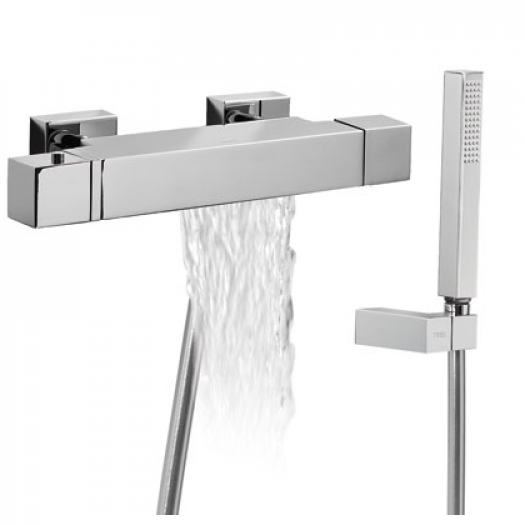 Mitigeur Bain-Douche thermostatique Cuadro de Tres