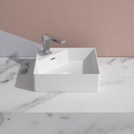 Lavabo à poser Centauro 40 en Solid Surface