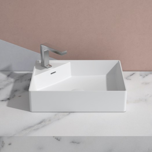 Lavabo à poser Centauro 50 en Solid Surface