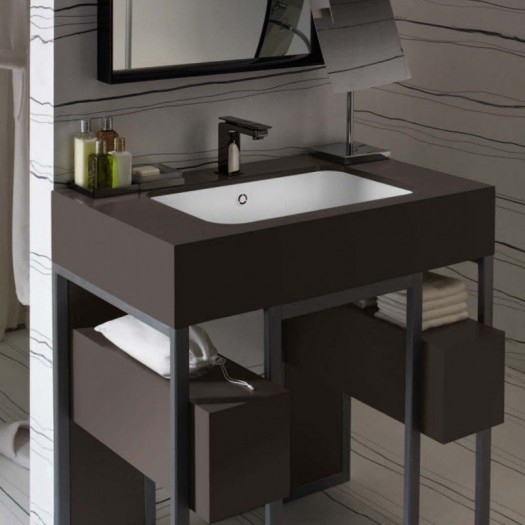 Plan Vasque en Corian® Urban Afluent