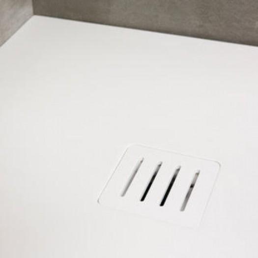 Grille de douche pour receveur de douche en Corian®