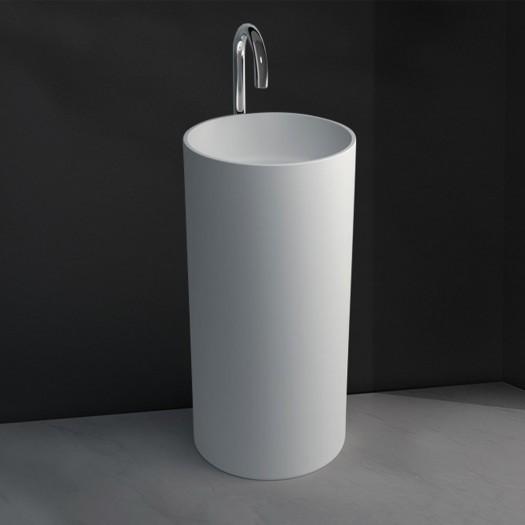 Lavabo colonne Joy en Solid Surface