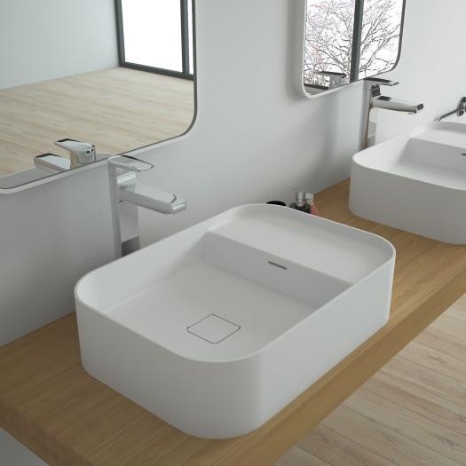 Vasque à poser en Solid Surface Juvenna