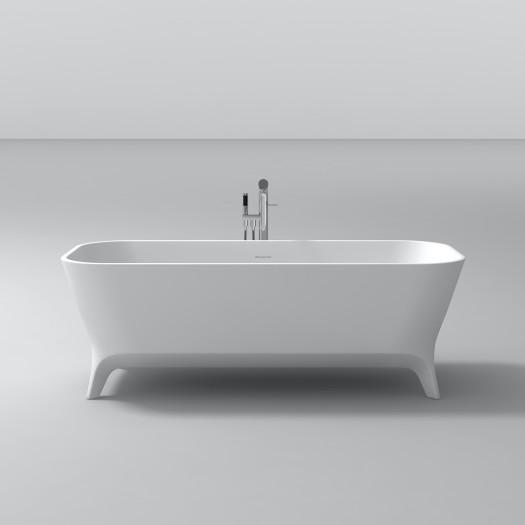 Baignoire Ilot Lofty 160cm en Solid Surface