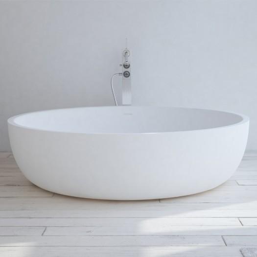 Baignoire Ilot Lyon 150cm en Solid Surface