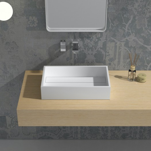 Lavabo Maltese en Solid Surface