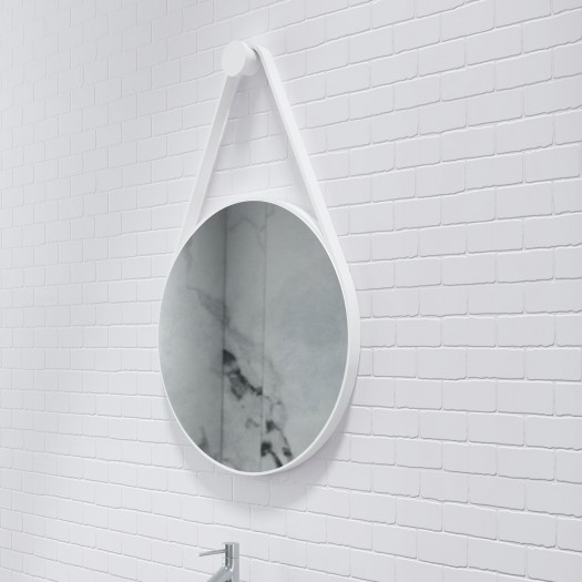 Miroir Moon en Solid Surface