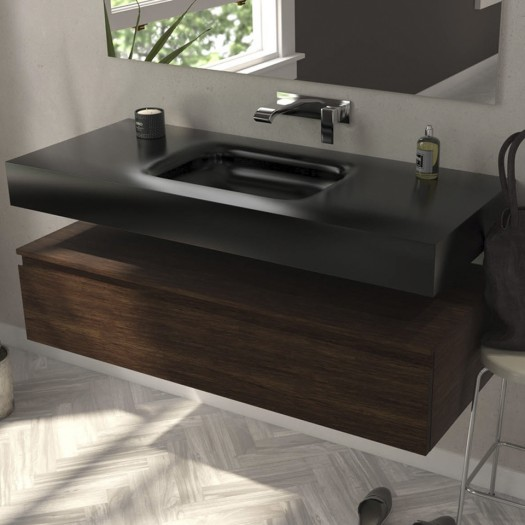 VASQUE EN CORIAN® DEEP NOCTURNE NEVADA