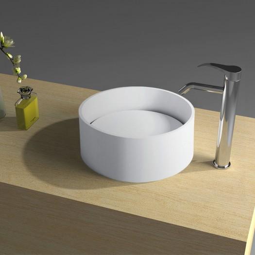 Vasque à poser en Solid Surface Ovata