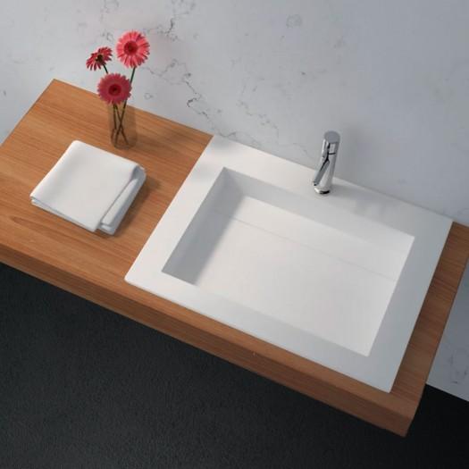 Plan Vasque en Solid Surface Peony