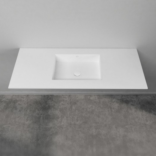 Plan Vasque en Corian® Quiet