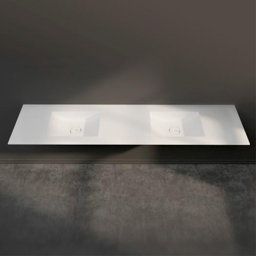 Double Plan vasque Corian® Refresh 7420 - Toutes Tailles
