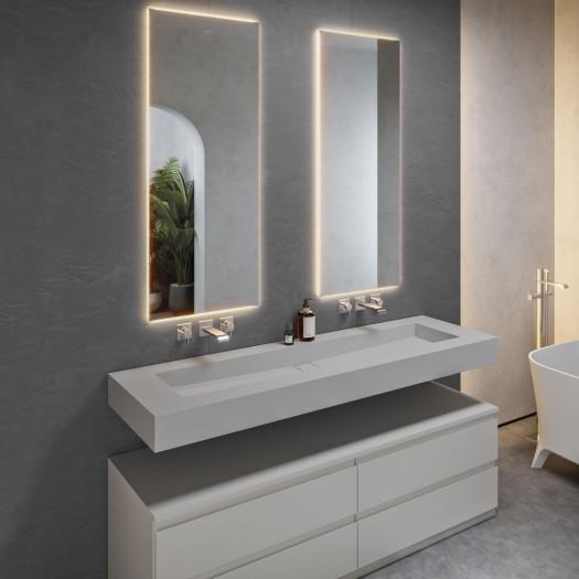 Vasque Corian® Silver Gray Area Plus