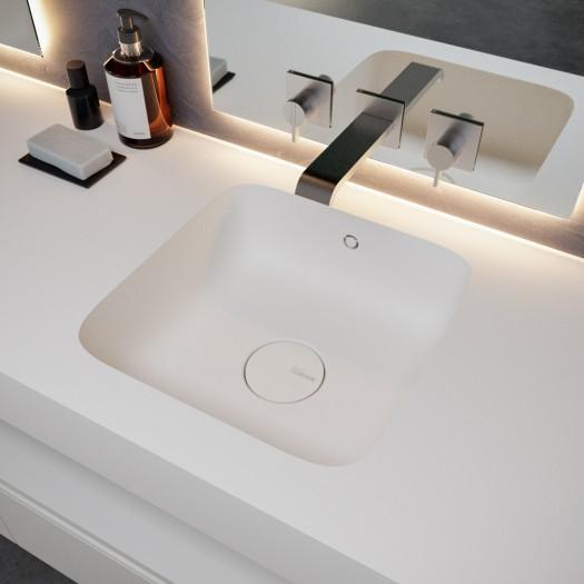 Double vasque en Corian® Serenity 7510
