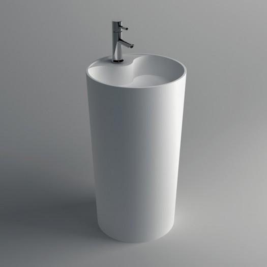 Lavabo colonne Spark en Solid Surface