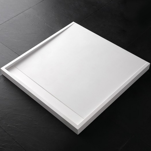 Receveur de douche D3 en Solid Surface 90x90cm