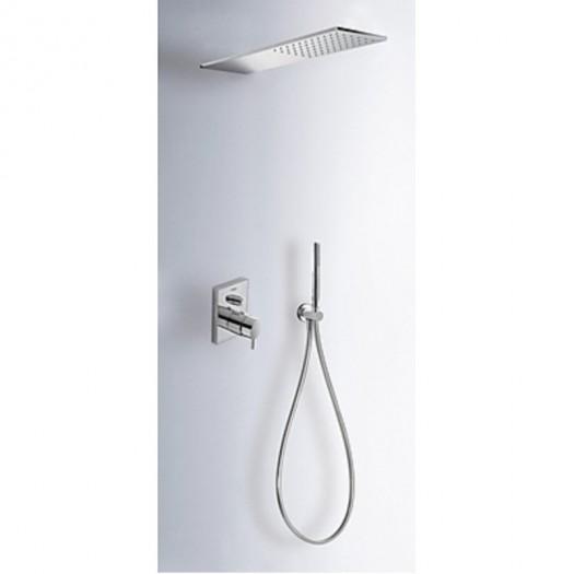 Kit thermostatique de douche encastré de Tres