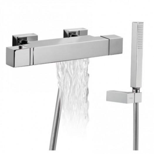 Mitigeur cascade baignoire avec douchette de Tres