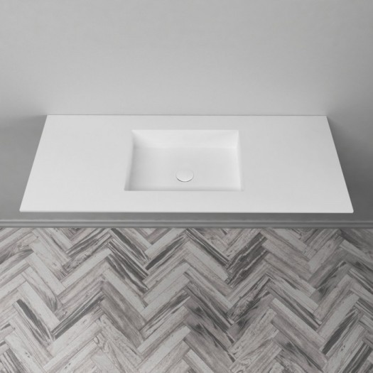 Plan Vasque en Corian® Square