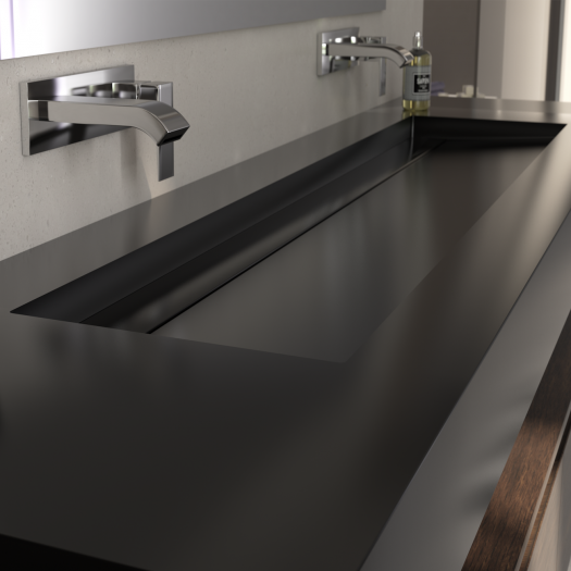 Vasque Corian® Deep Nocturne Alabama Plus