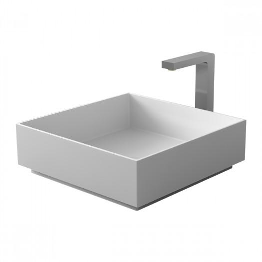 Vasque à poser en Solid Surface Zinnia 38cm