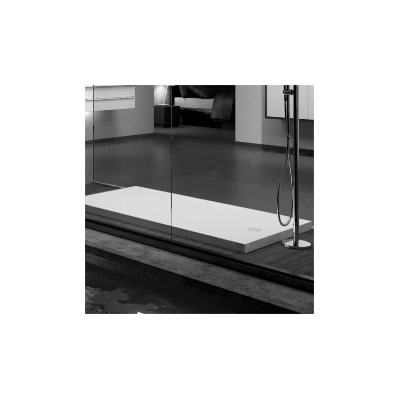 receveur de douche corian munich sur mesure. Black Bedroom Furniture Sets. Home Design Ideas