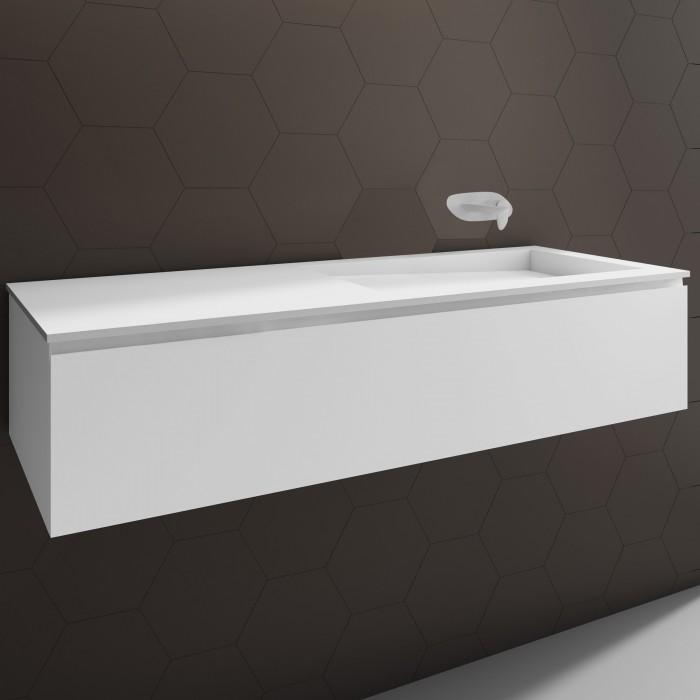 doppelwaschbecken corian canada 1 schublade. Black Bedroom Furniture Sets. Home Design Ideas