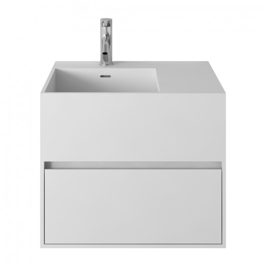 Badezimmermöbel Acebo aus Mineralguss - 1 Schublade