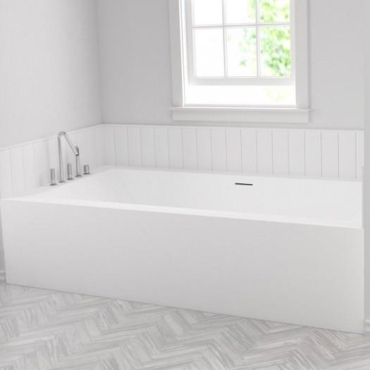 Badewanne Nach Maß Aus Corian ® + 1 Wannenschürze ...