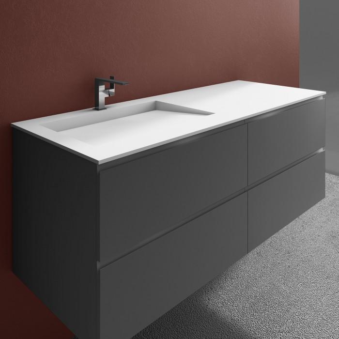 doppelwaschbecken corian tennessee 4 gestapelte. Black Bedroom Furniture Sets. Home Design Ideas