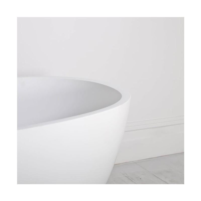 Badewanne mineralwerkstoff nantes mini - Mini badewanne ...