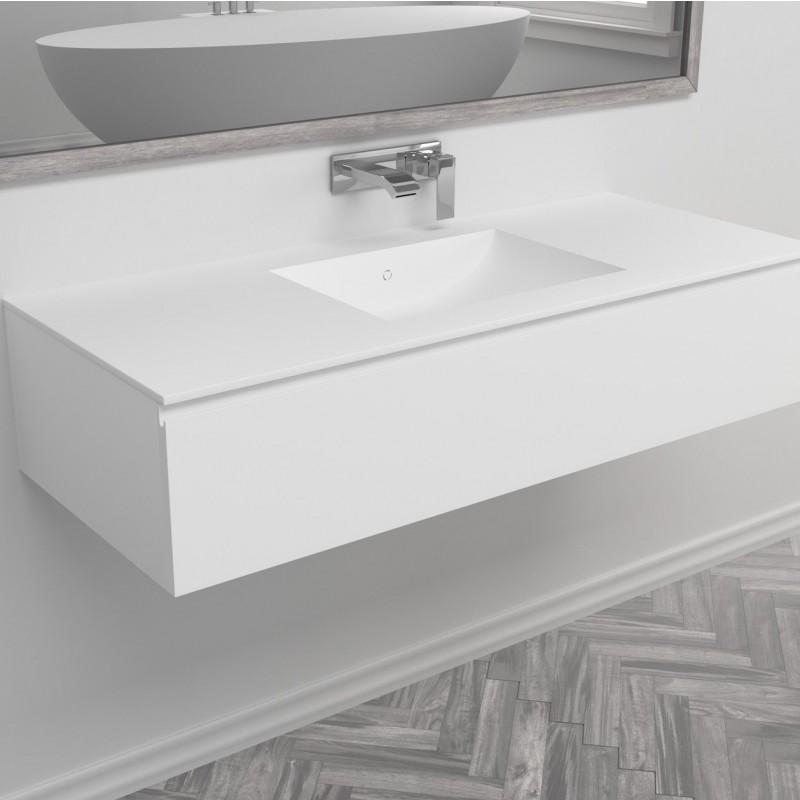 waschbecken corian refresh 1 schublade. Black Bedroom Furniture Sets. Home Design Ideas