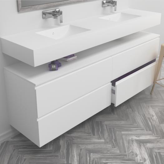 Badkamer meubels luxe badkamers for Meubel canada