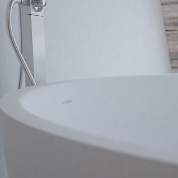 Baignoire Ilot Lyon 135cm en Solid Surface