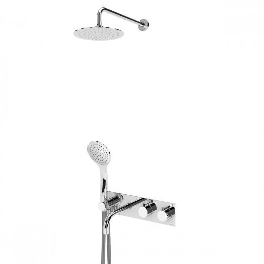 Thermostatisches Bad-Dusch-Set BRUMA - 1383102CR