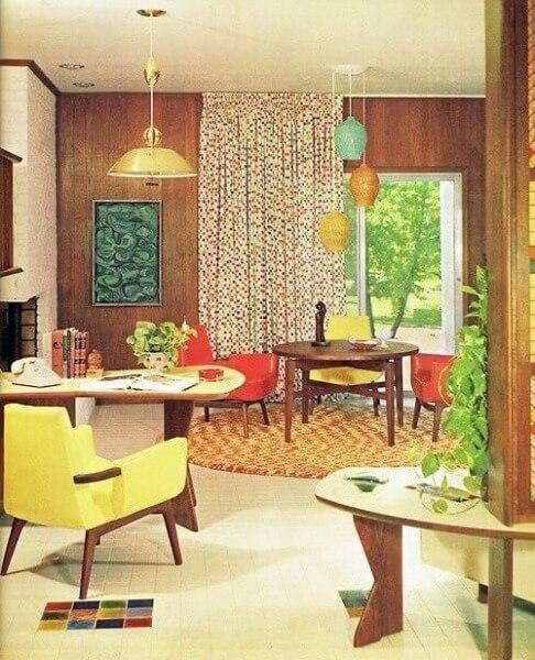1960s Modernist interior