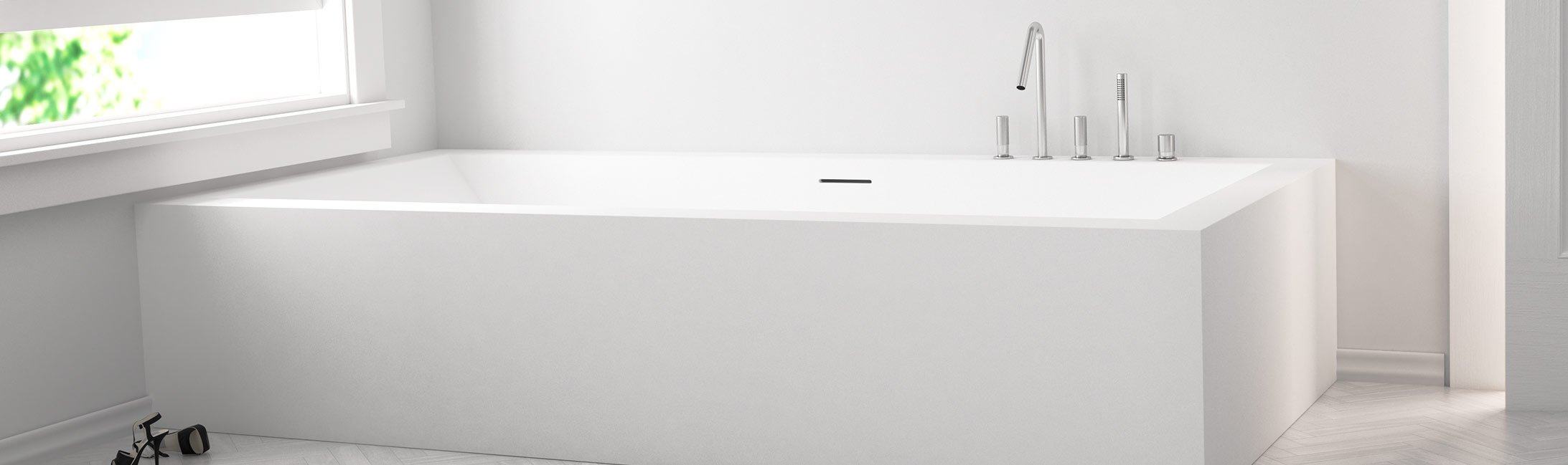 Baths corian