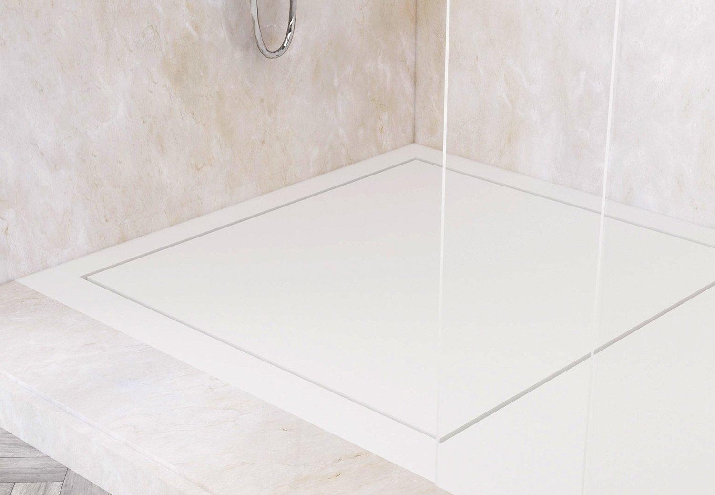 Optimieren Sie Die Aufteilung Ihres Badezimmers Mit Unseren Maßgefertigten  Corian® Duschwannen. Unsere Extra Flachen Duschwannen Passen Perfekt.